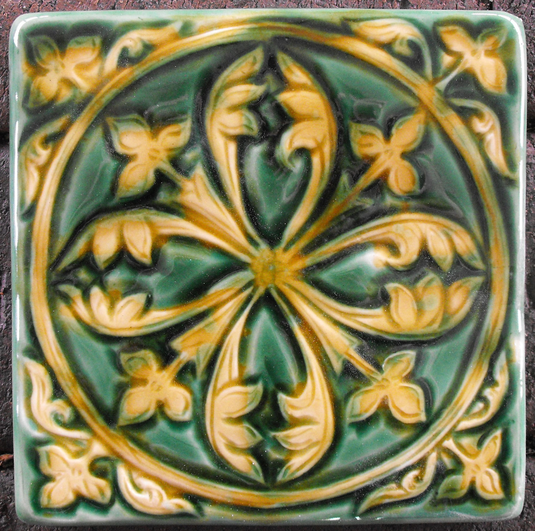 Cathdral Paver Tiles by Verdant Tile
